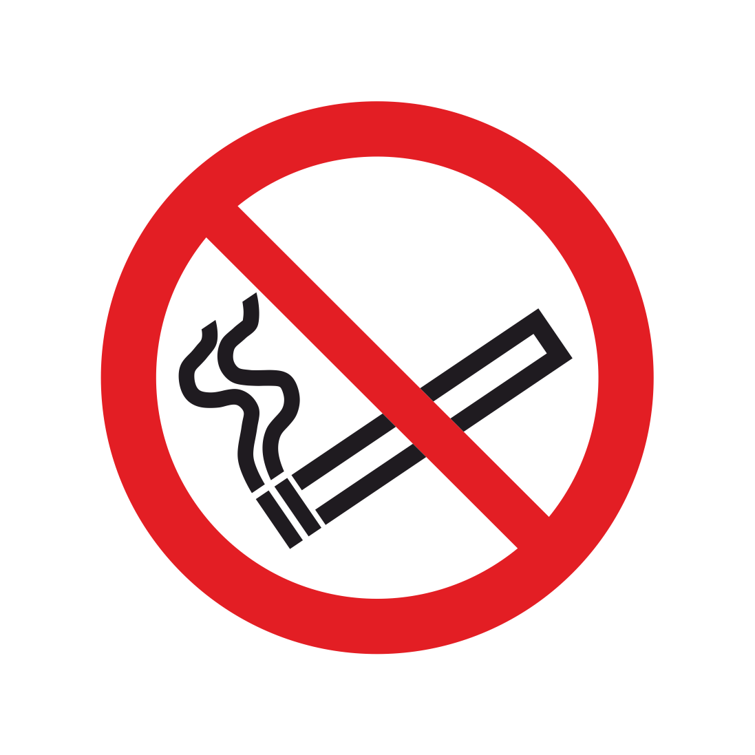 No smoking symbol only sticker smoking signs bath signs digital no smoking symbol only sticker biocorpaavc Image collections