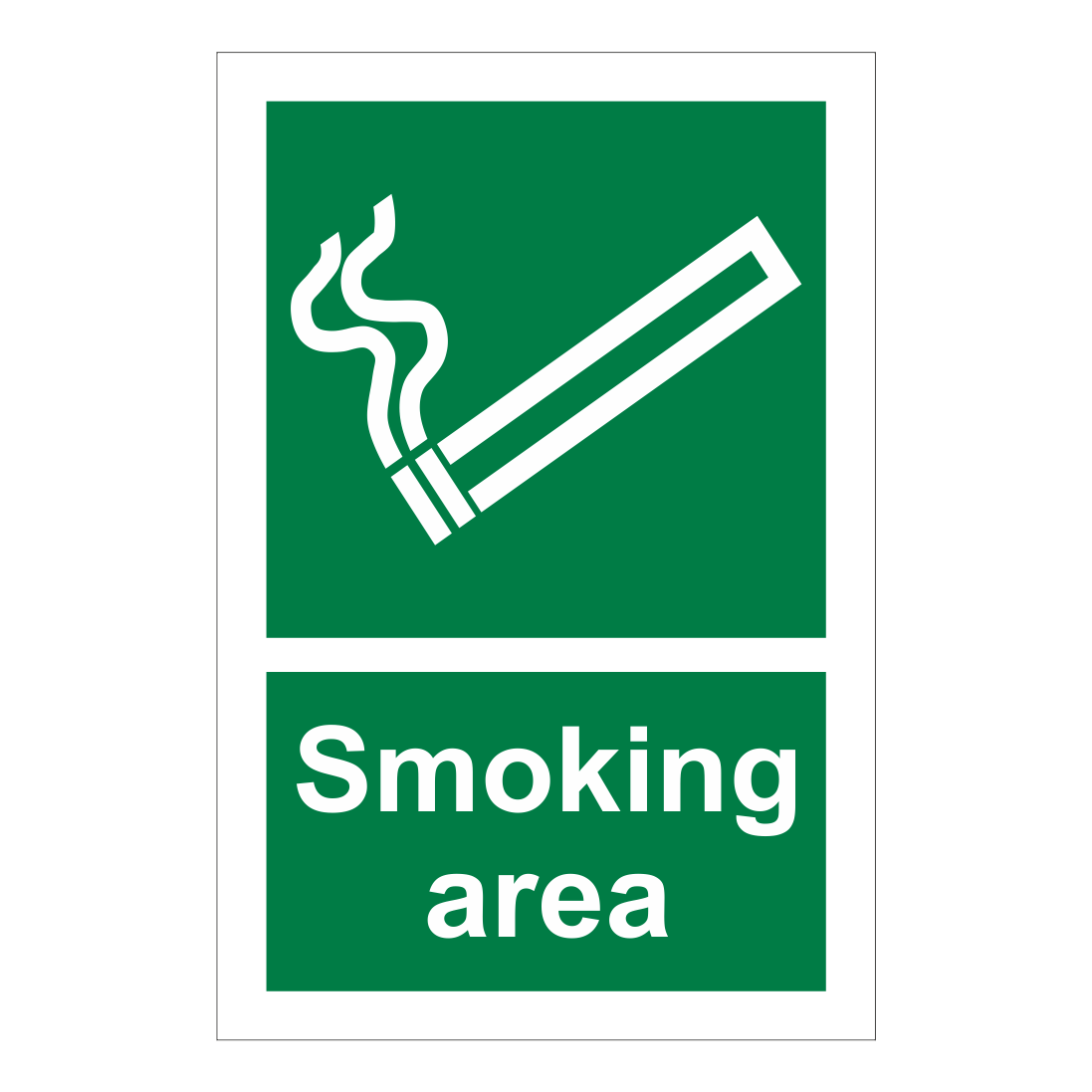 Smoking Area Sign Smoking Signs Bath Signs Digital