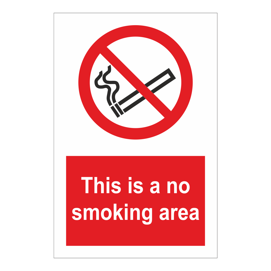 this is a no smoking area sign smoking signs bath