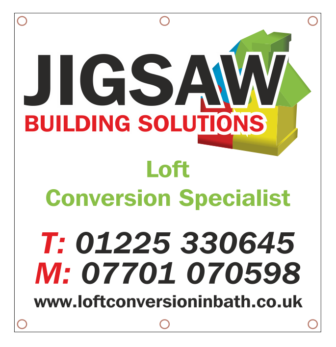 4 x 4 Single Sided Scaffold Banner
