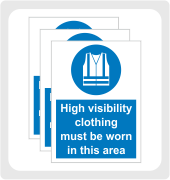 General Protective Clothing Signs